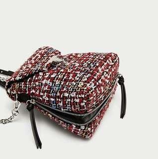 SALE Original Zara Knitted Backpack