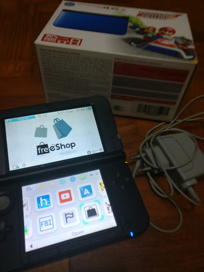 3ds XL modded, Toys & Games, Video Gaming, Consoles on Carousell
