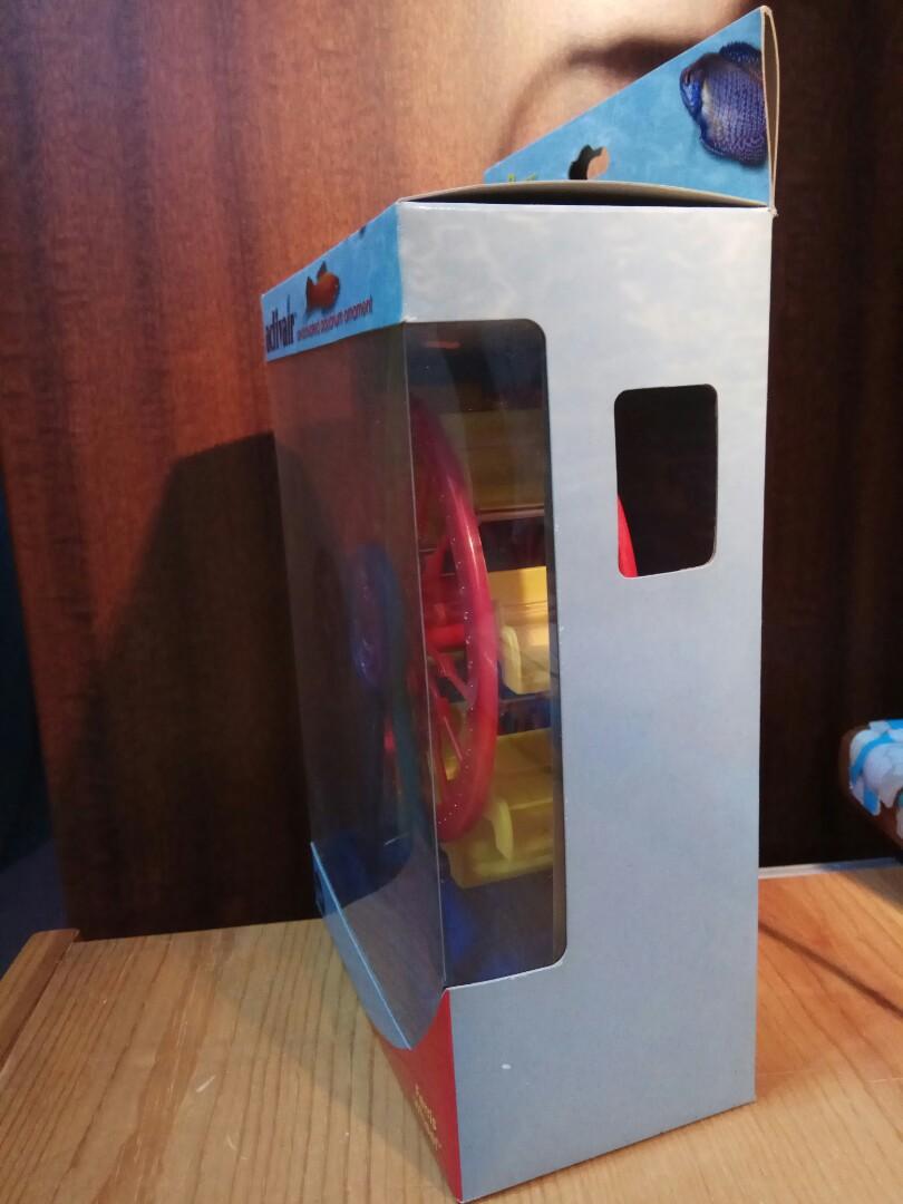 魚缸打氣摩天輪 aquarium air-actuated ferris wheel