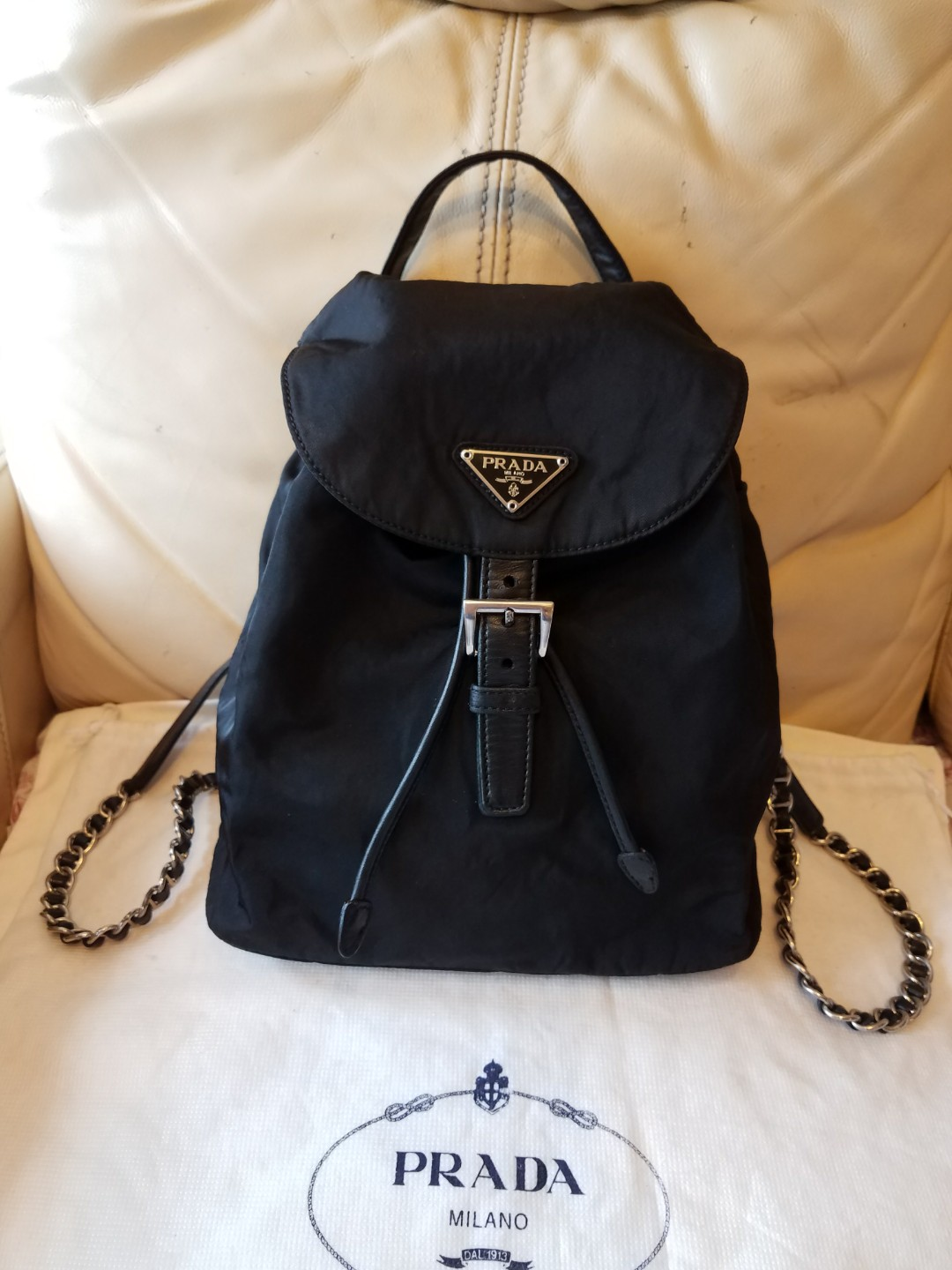 ... low cost authentic prada backpack luxury bags wallets on carousell  622cb fe4d4 c532cfa9cca61
