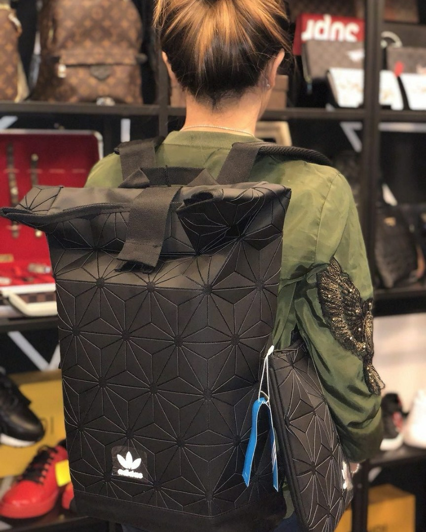 Adidas Backpack and clutch