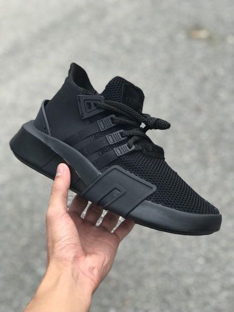 new concept f12c9 a6eb9 Adidas EQT ADV ALL BLACK
