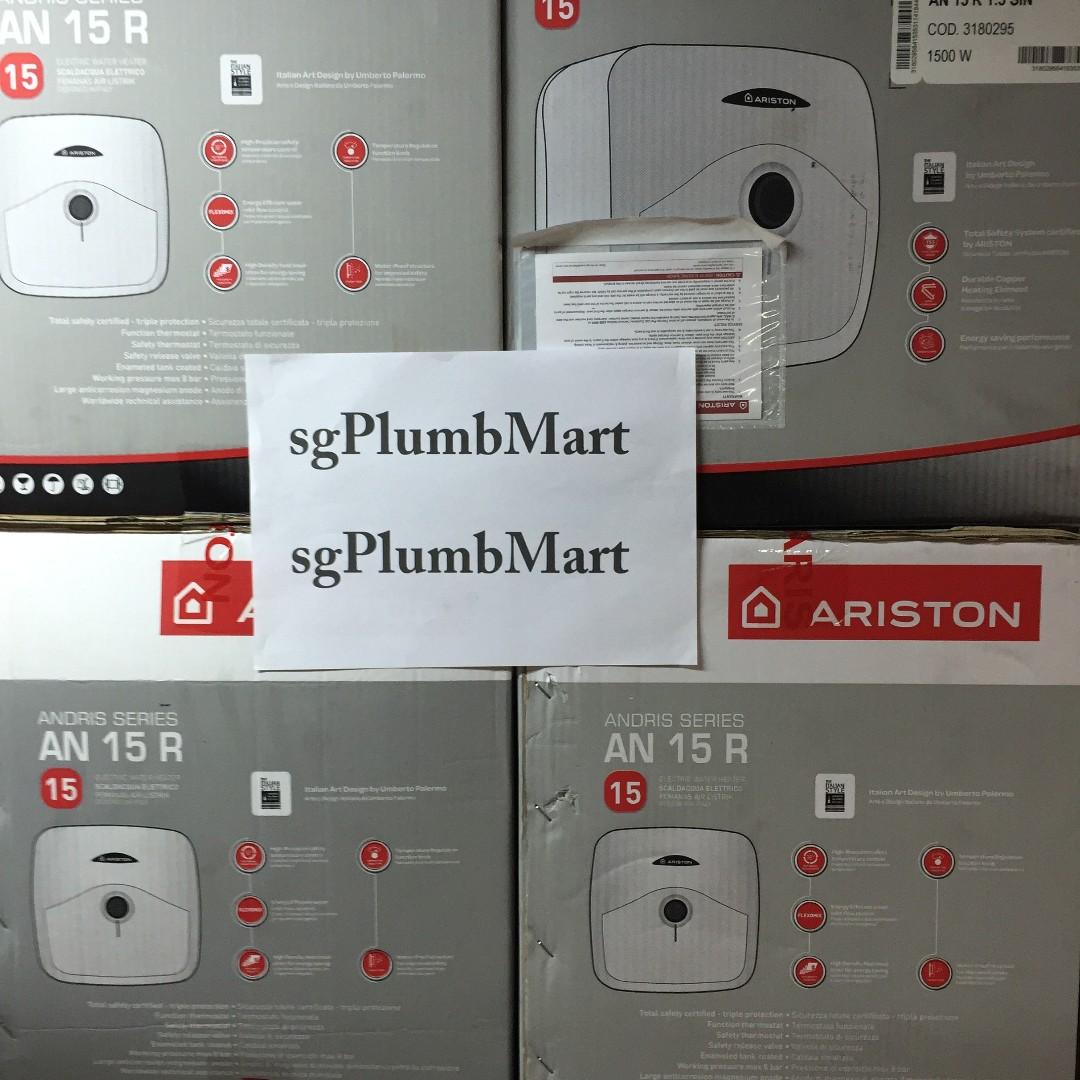 Pemanas Air Ariston Water Heater An 15 Liter 350w Bonus Hand Shower Andris R 10 L 200 Watt Electric Watet Lt Termurah Source