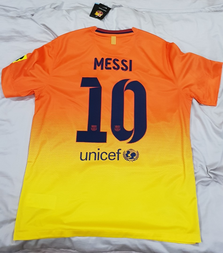new arrivals 9022b 69662 Authentic Barcelona away jersey 2012 - 2013 with Messi name ...