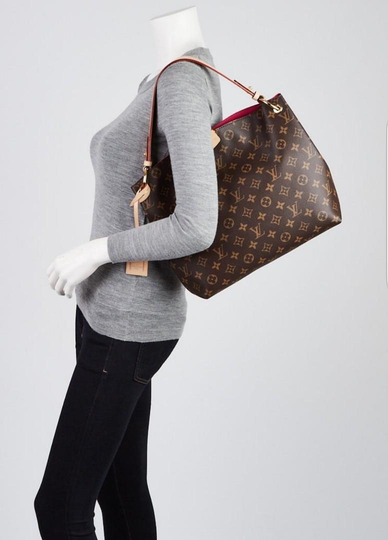 5a9c96b6c8b4 💯Authentic Louis Vuitton Monogram Canvas Graceful MM Bag