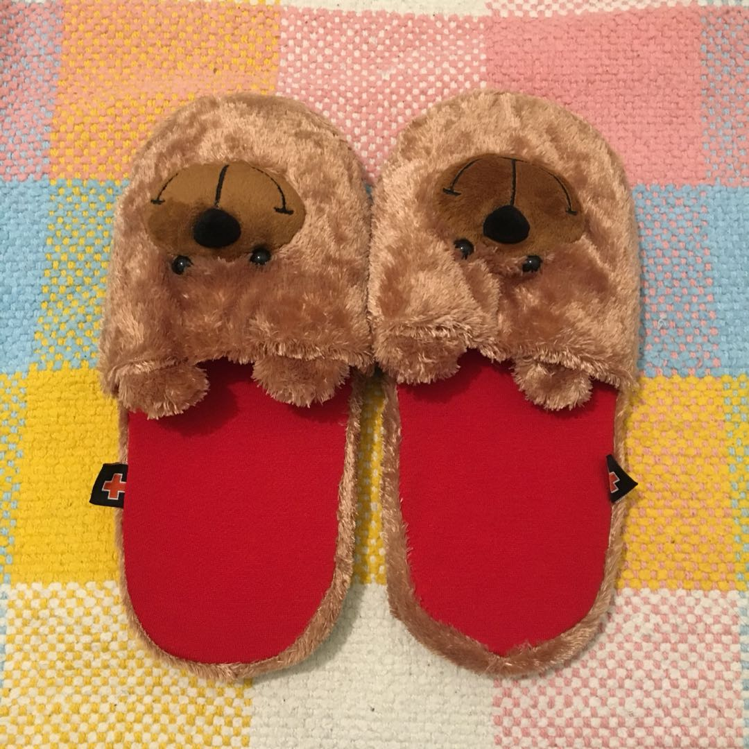 Bear Fluffy Slippers