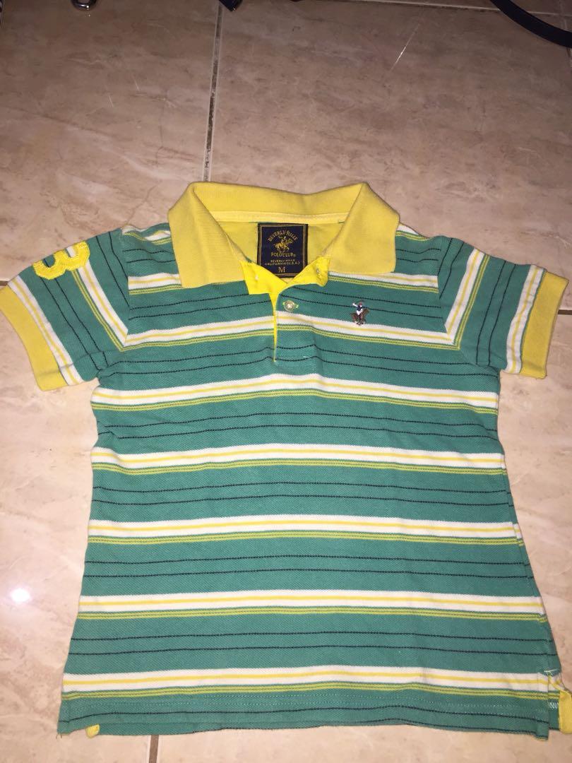 Beverly Hills Polo Club Polo Shirt For kids Medium
