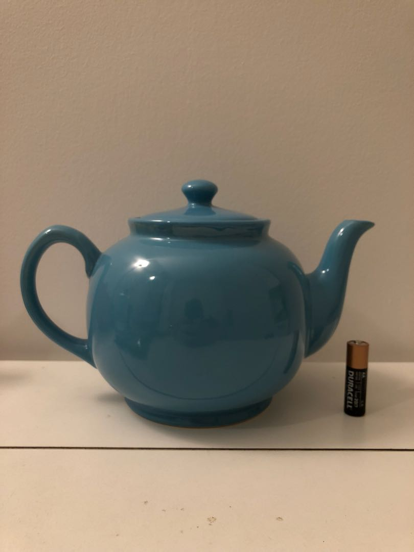 Big Blue Teapot