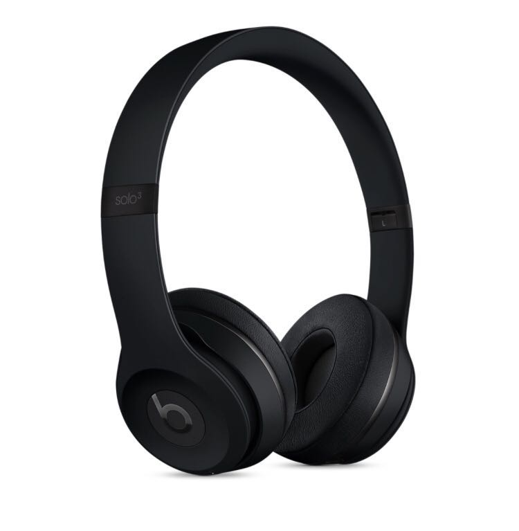 BNIB Beats Solo3 Wireless On-Ear Headphones - Matt Black