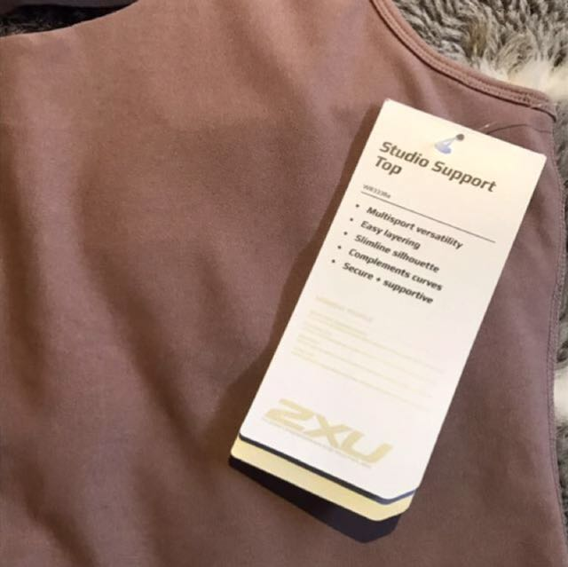BNWT 2XU WORKOUT TOP RRP$105 AUTHENTIC
