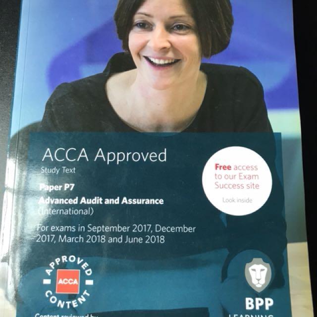BPP P7 Advanced Audit and Assurance (Study Text)