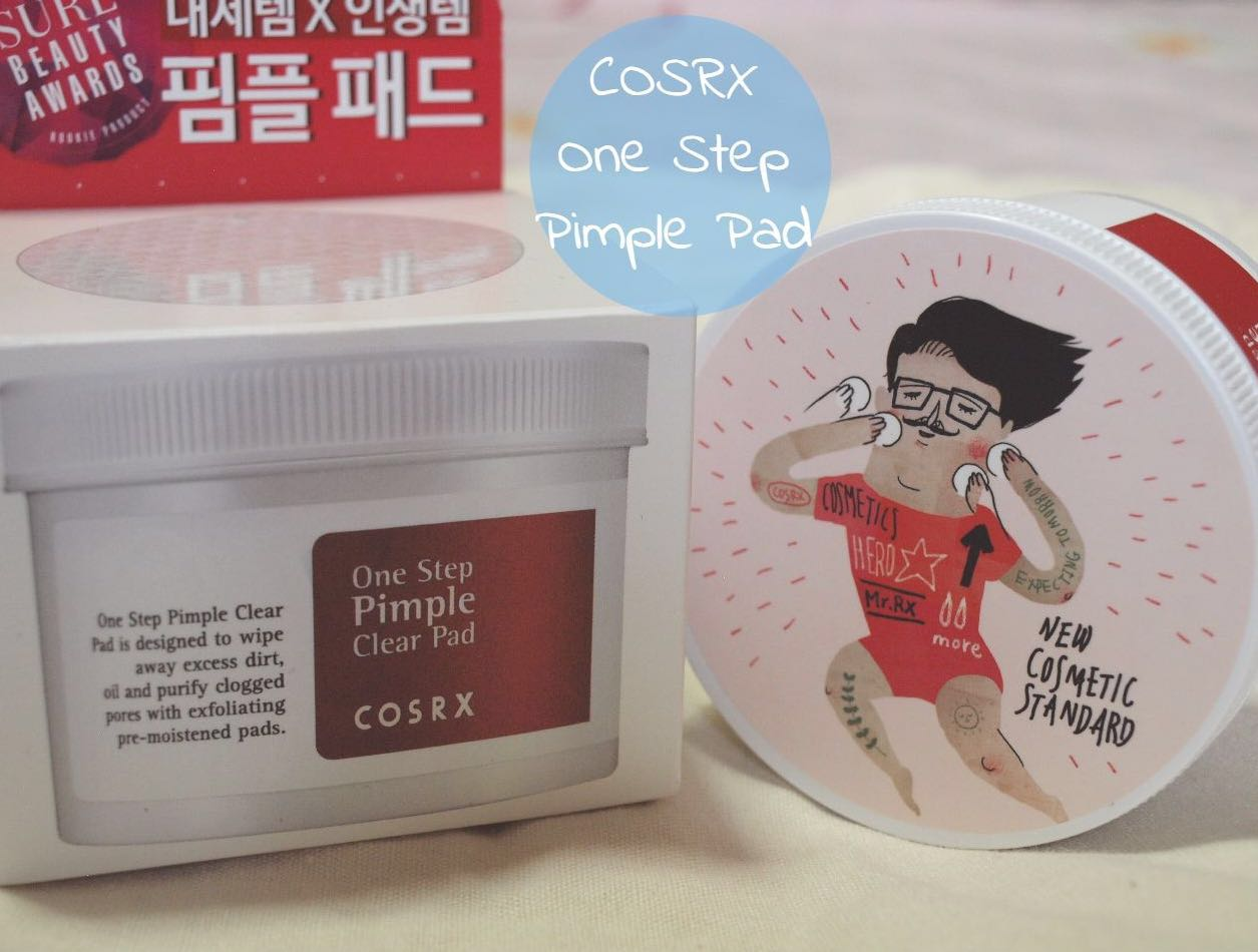 Brand New CosRX One Step Pimple clear pads