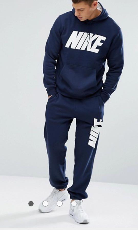 Brand new Nike navy trackies