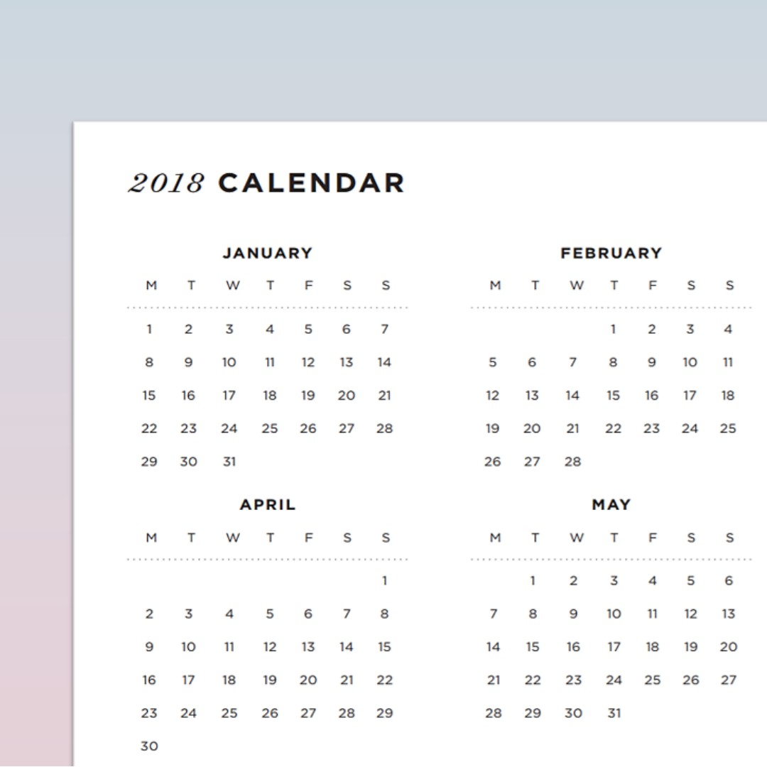 photograph relating to Bullet Journal Symbols Printable titled Printable - Calendar, Structure Craft, Craft Materials Applications