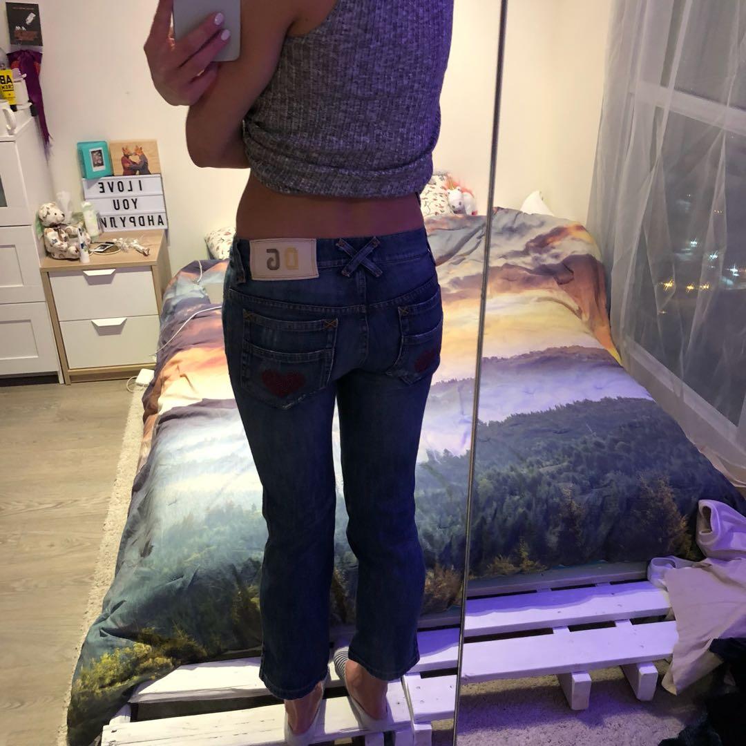 D&G Vintage Cropped Jeans