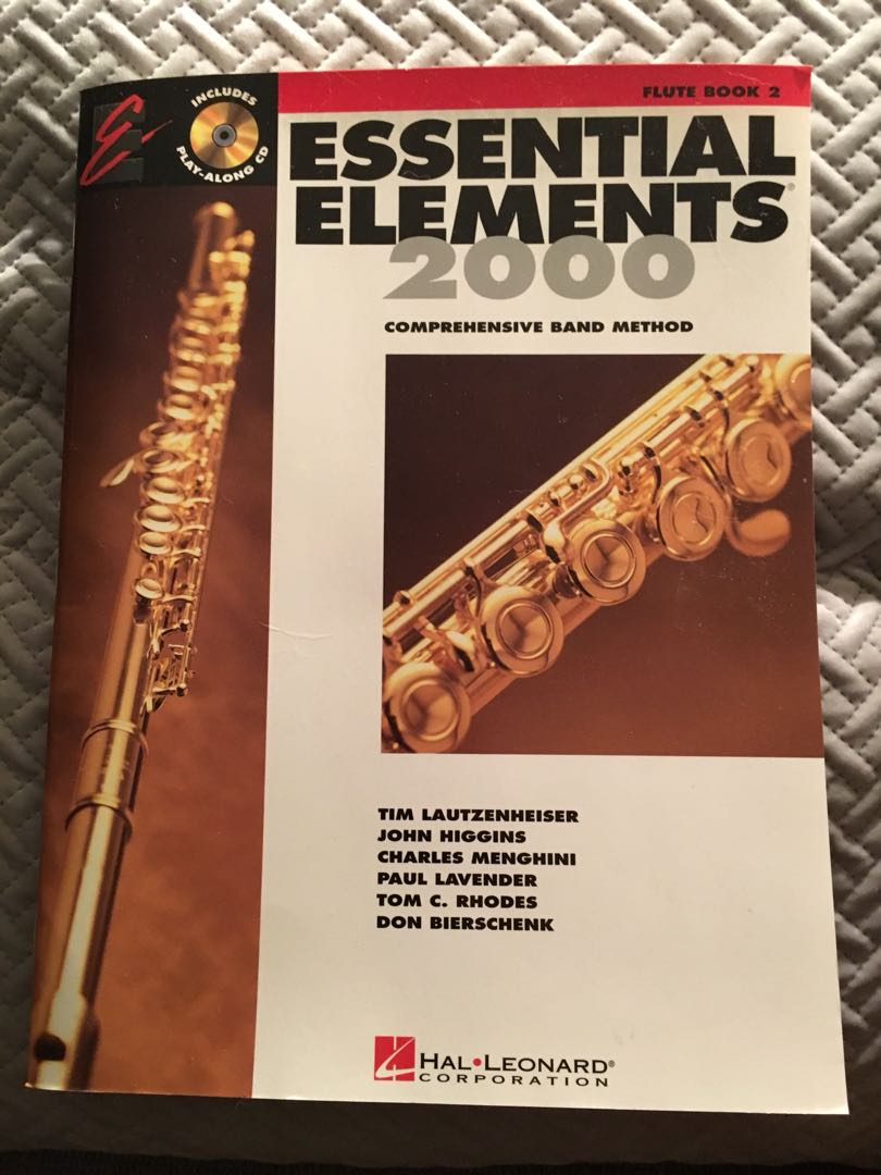 Essential Elements 2000 Flute Book 2
