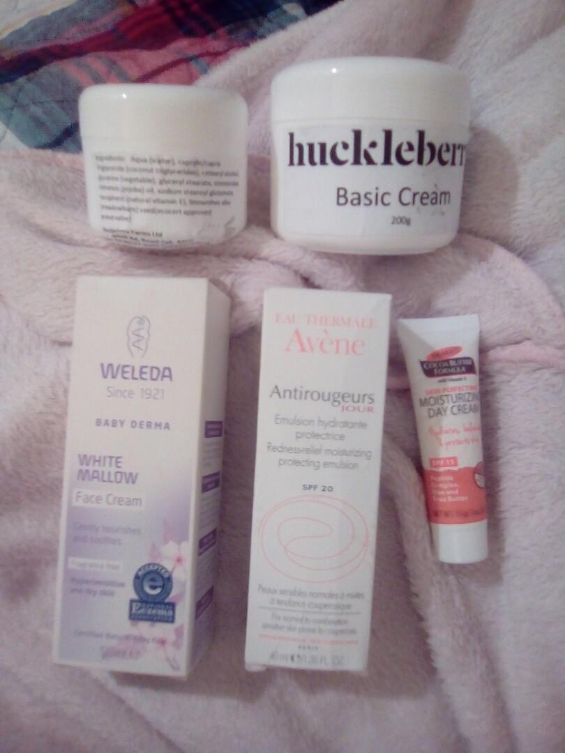 Face Creams + Avène face mask