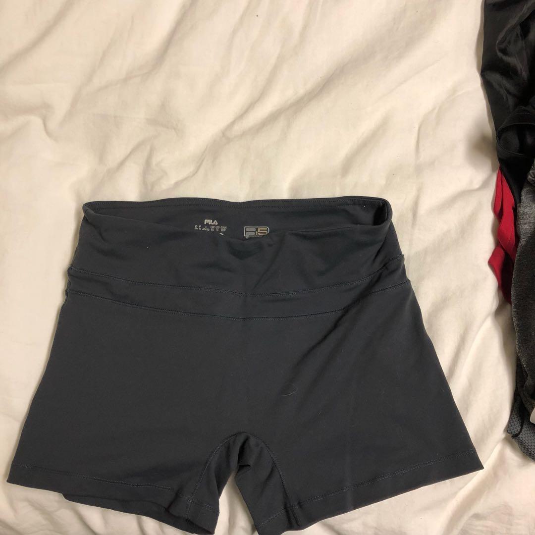 FILA spandex shorts