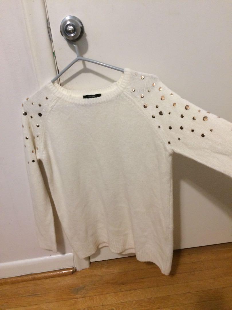 Forever 21 embellished sweater