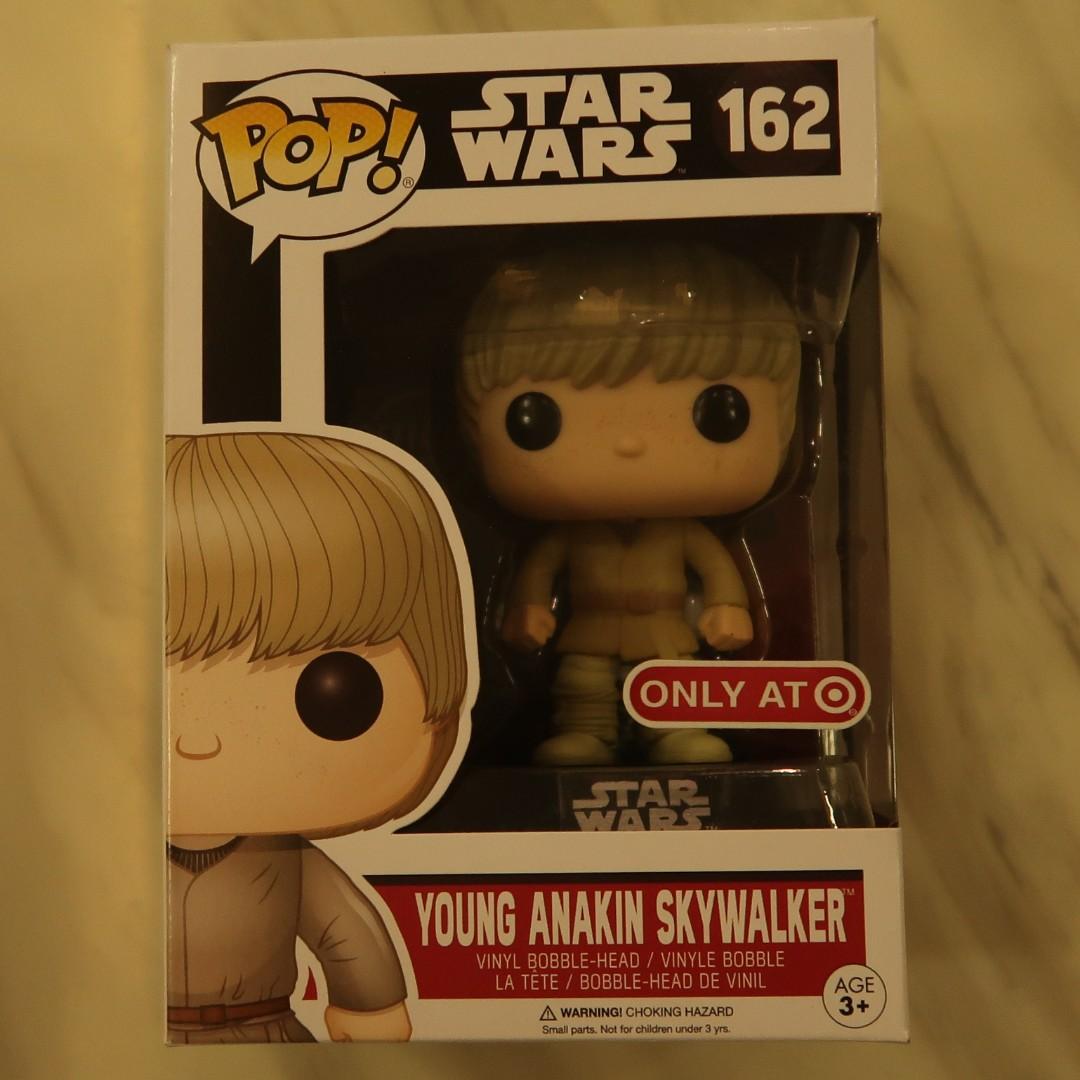 Funko Pop Star Wars Young Anakin Skywalker Target Exclusive N0. 162 ...