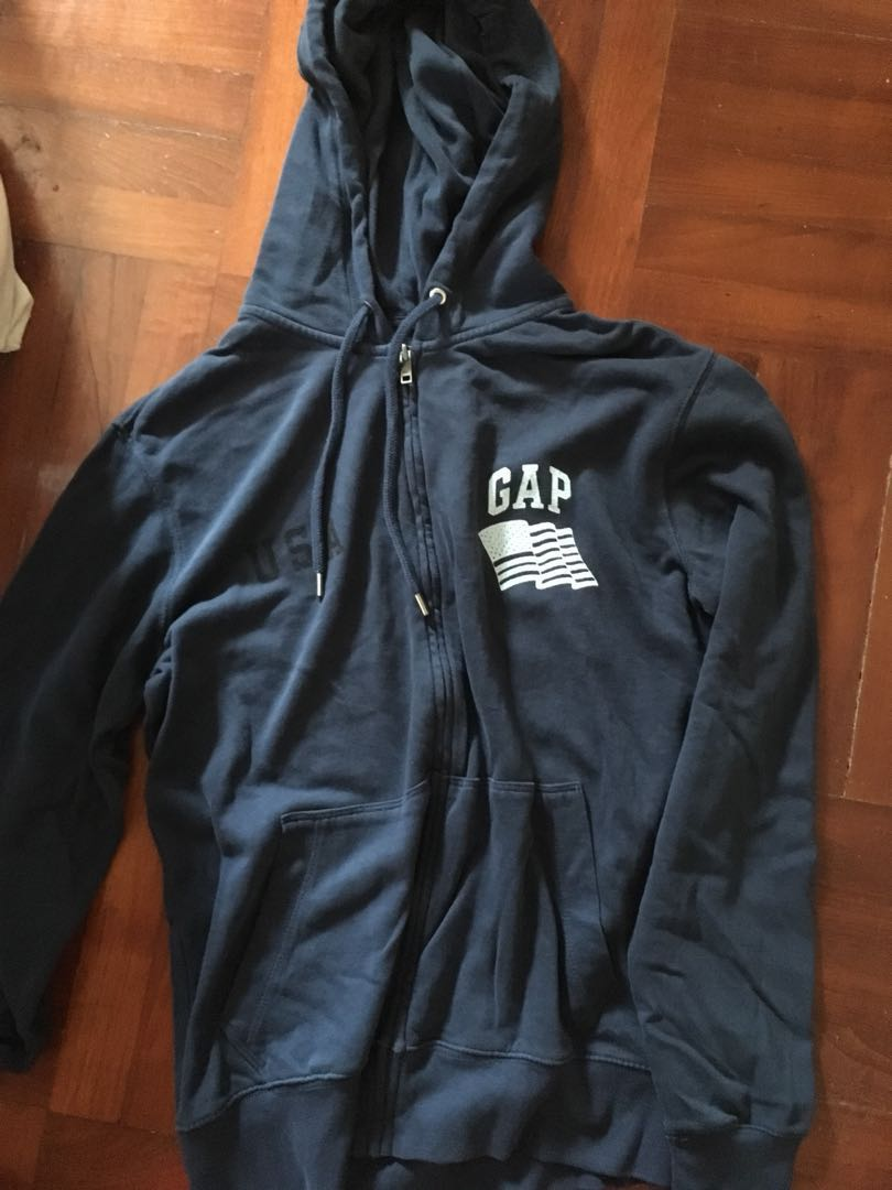 Gap navy hoodie boyfriend style