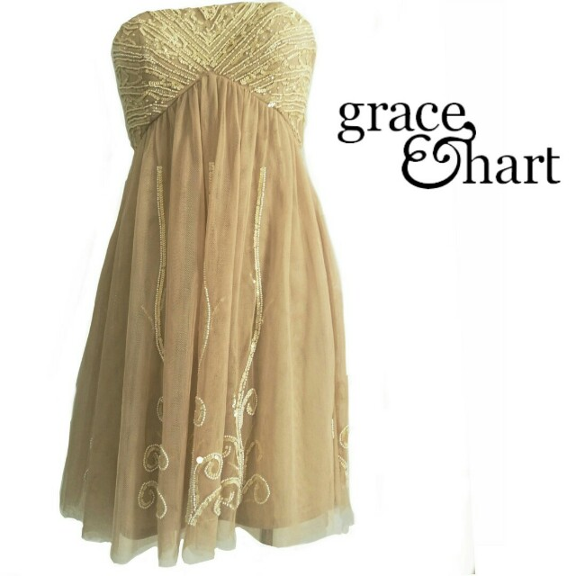 GRACE & HART tulle formal dress  size 10
