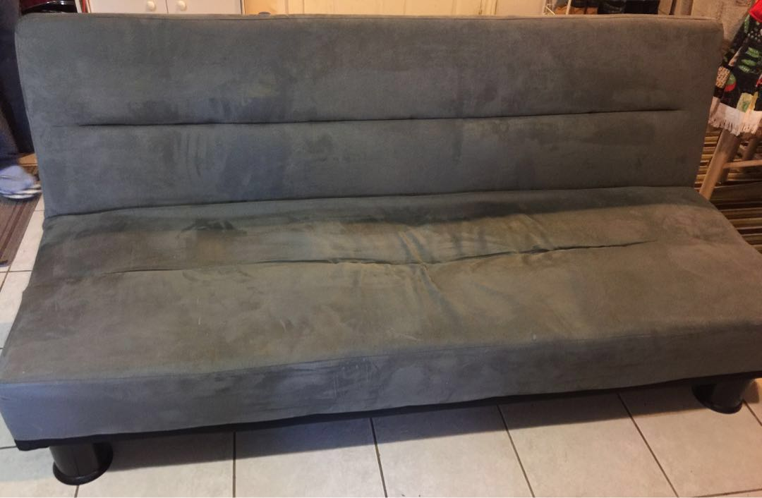 GREY FUTON SOFA BED(Rush Sale)
