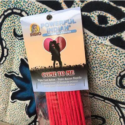 In stock Come to me incense stick use in love spell