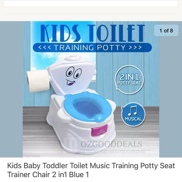 Kids training potty (2 available)