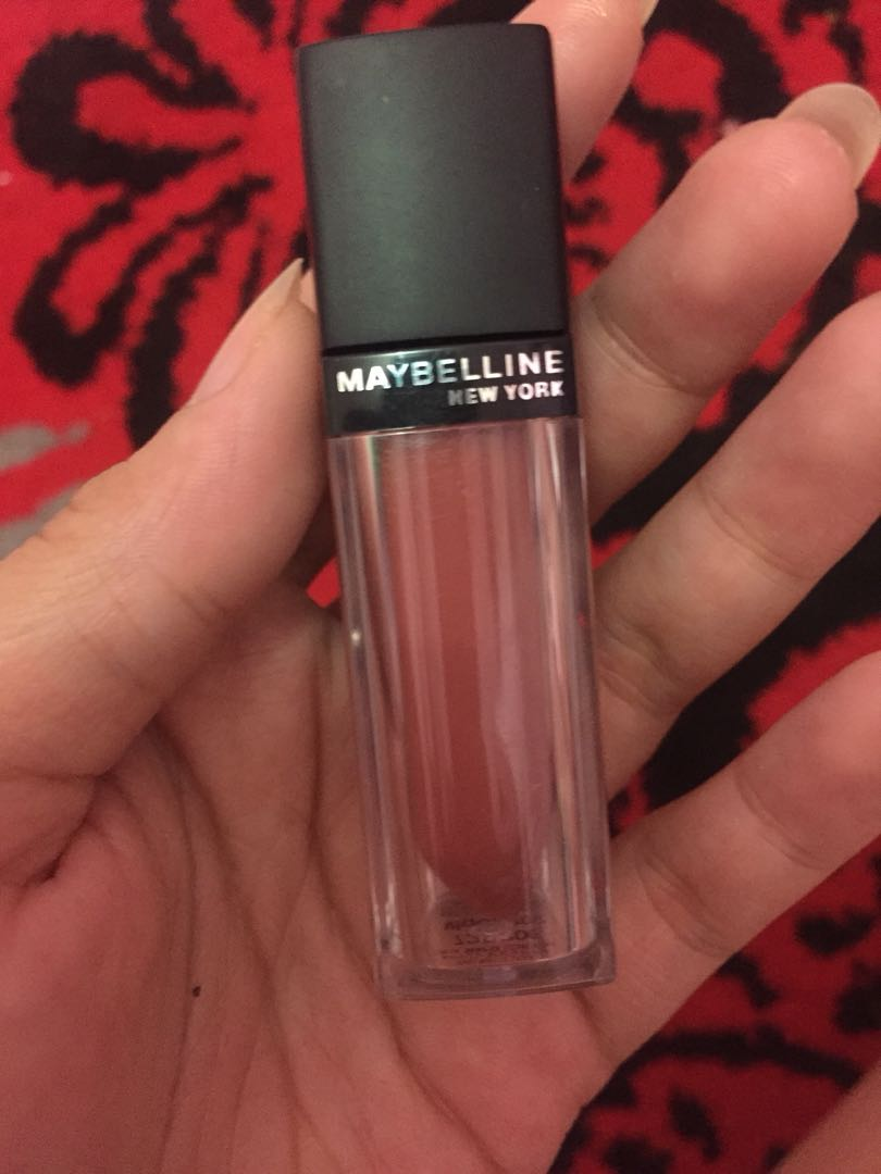 Lipstik Maybelline Matte 12 Health Beauty Makeup On Carousell