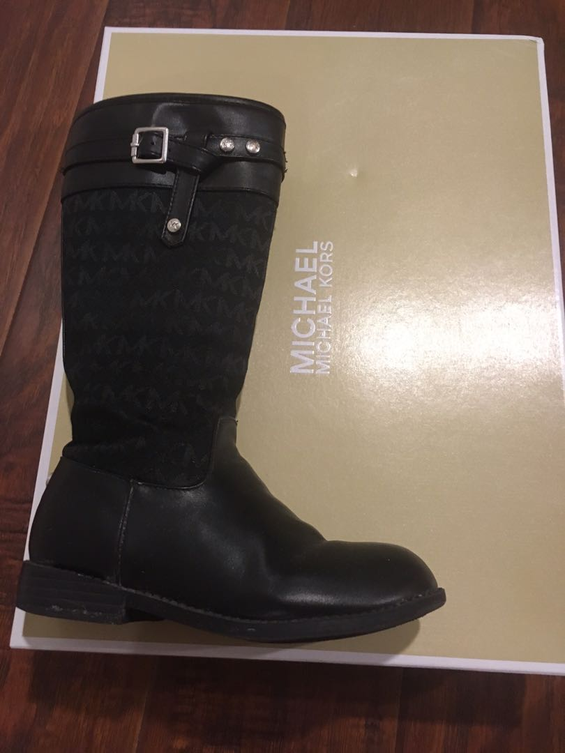 Michael Kors Rannee Girls Riding boot size 13
