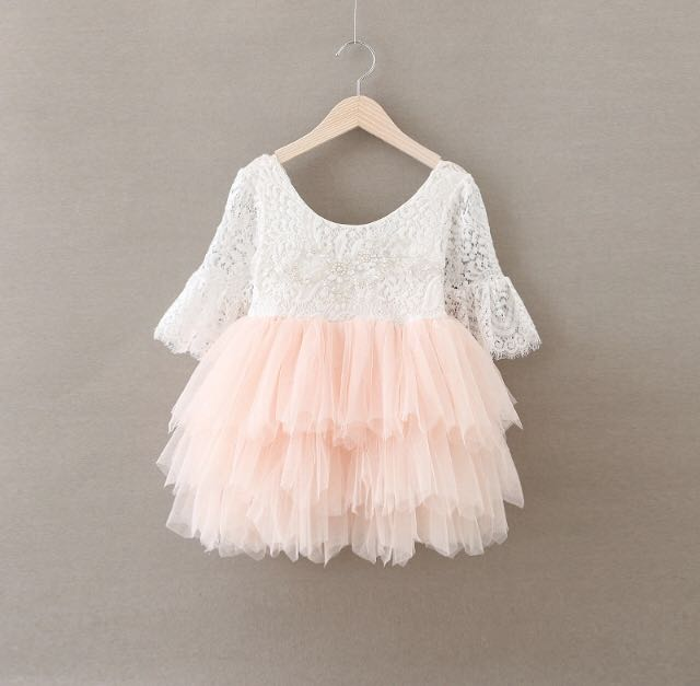 New toddler dress- size 2,4,5