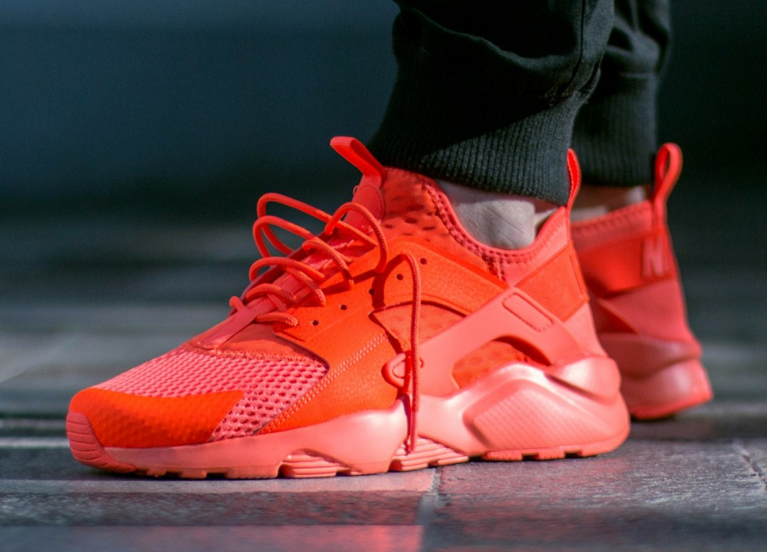 534cca6e46e9 Nike Air Huarache Run Ultra BR Total Crimson US 9