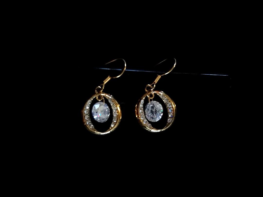 Oroton Golden Earrings