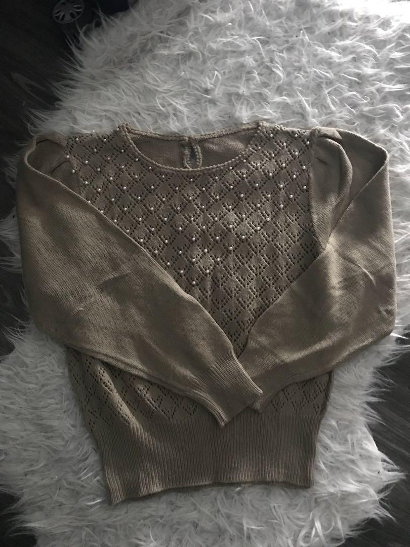 pearl sweater