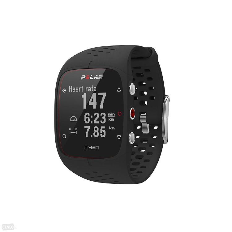 Polar M430 running watch with wrist based heart rate and GPS