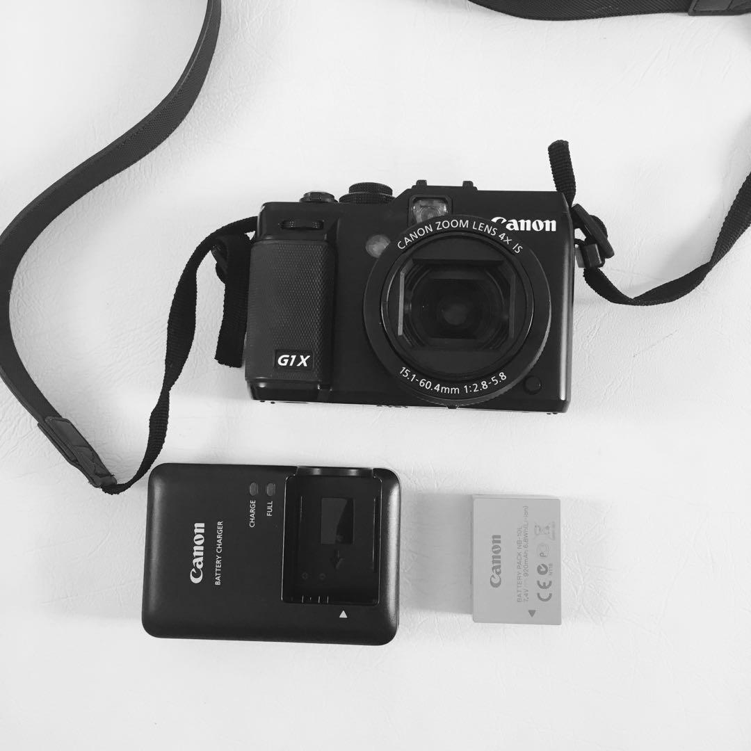 Powershot G1X camera