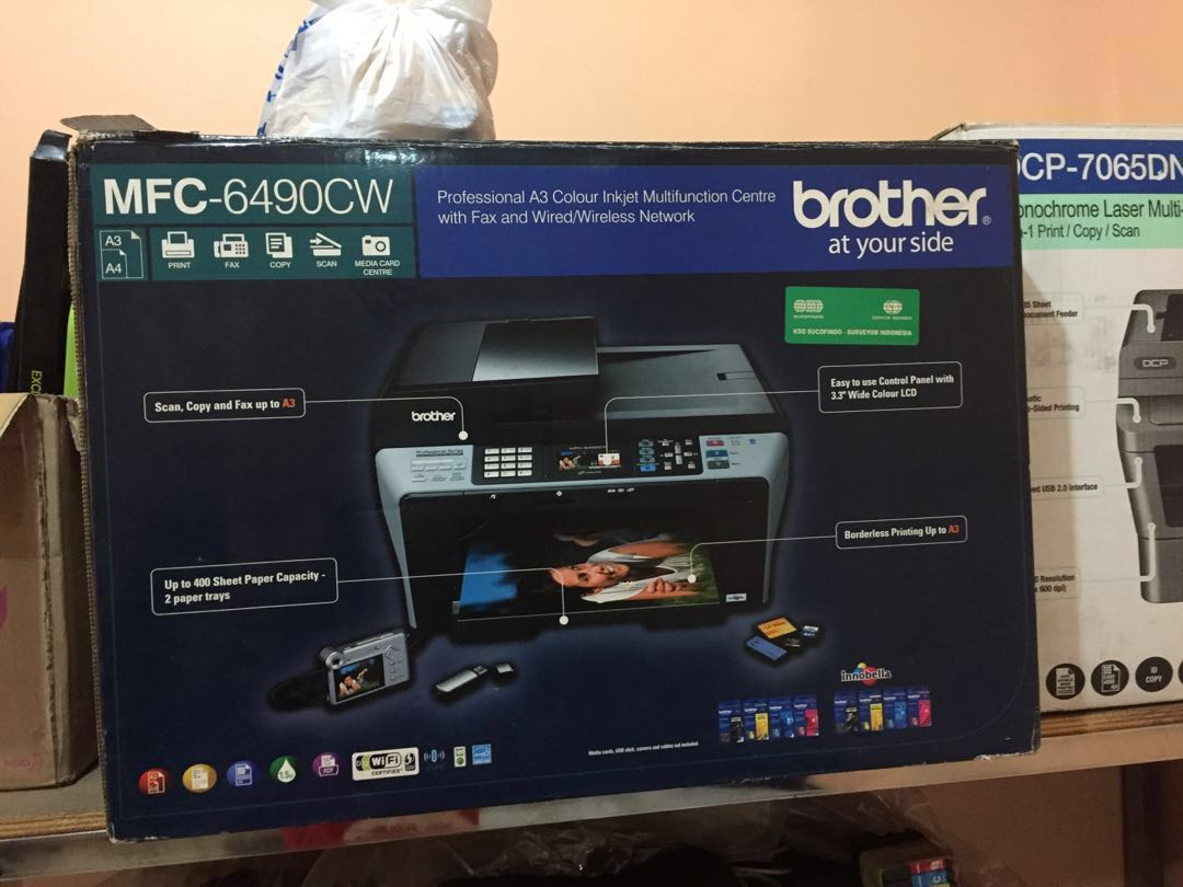 Printer brother, Electronics, Computer Parts & Accessories