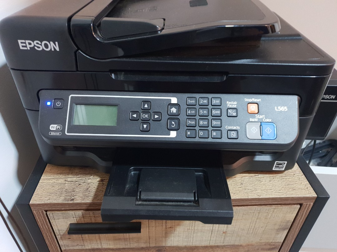 Printer Epson L565 - Wi-Fi All-in-One Ink Tank Printer