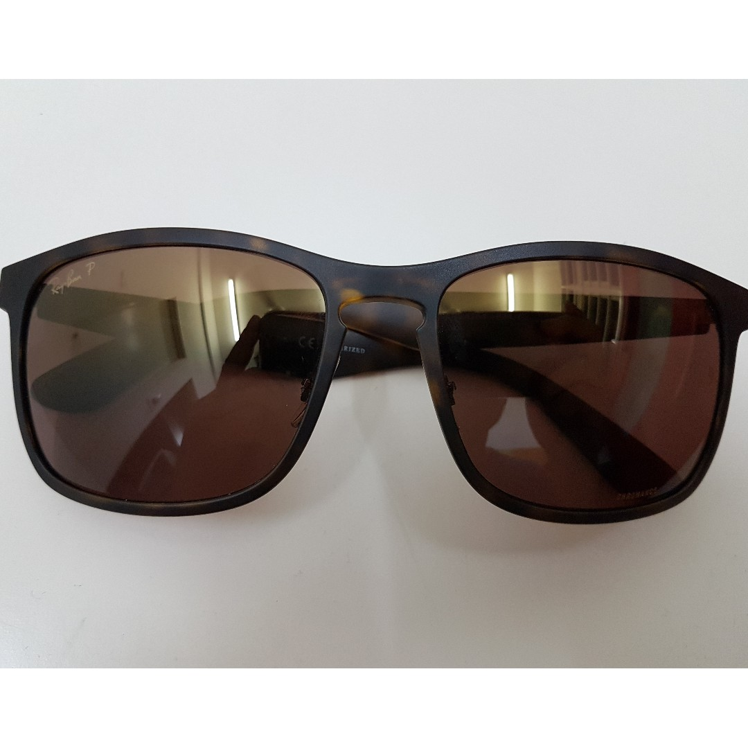 5c70fae09c Ray-Ban Brown RB4264 Chromance Sunglass