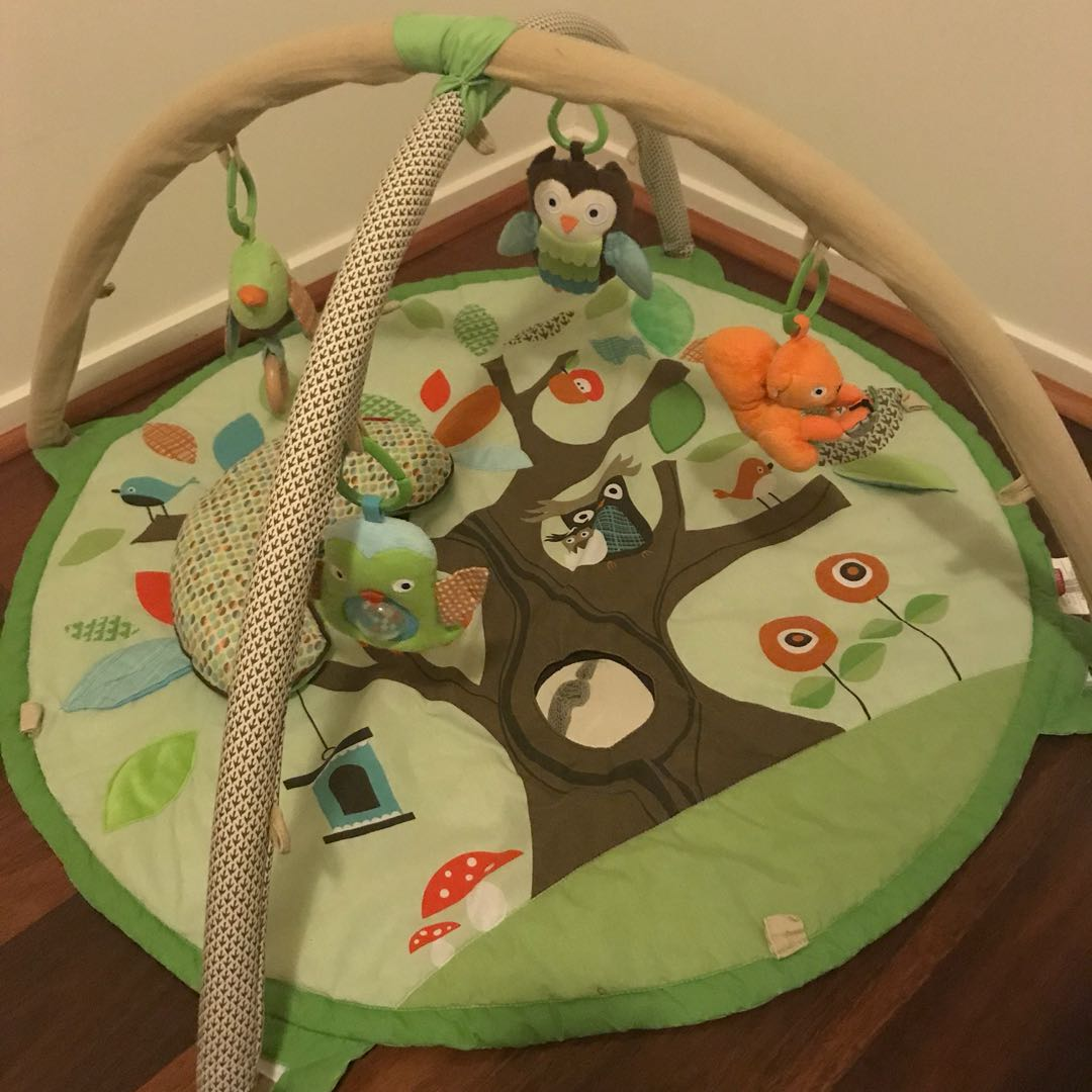 Skip Hop Treetop Friends Activity Gym and Soft Toys