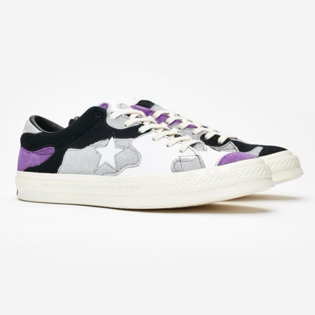 ed93648969d5 Sneakersnstuff x Converse One-Star Camo (Deep Lavender Wolf Grey ...