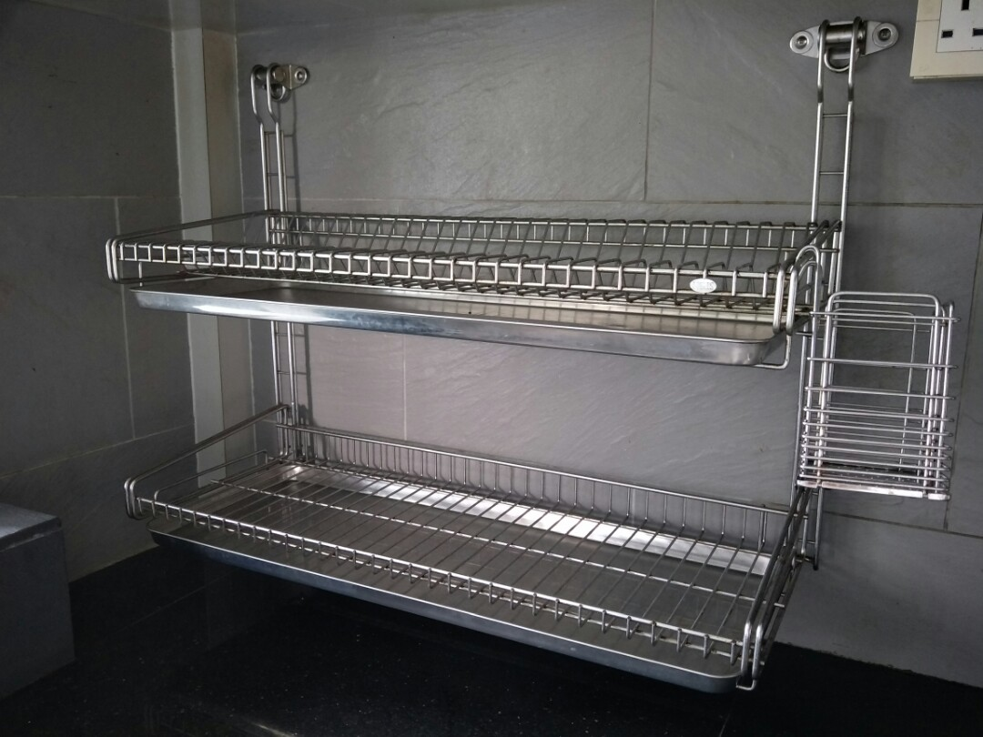 Stainless Steel Dish Rack Home Appliances On Carousell
