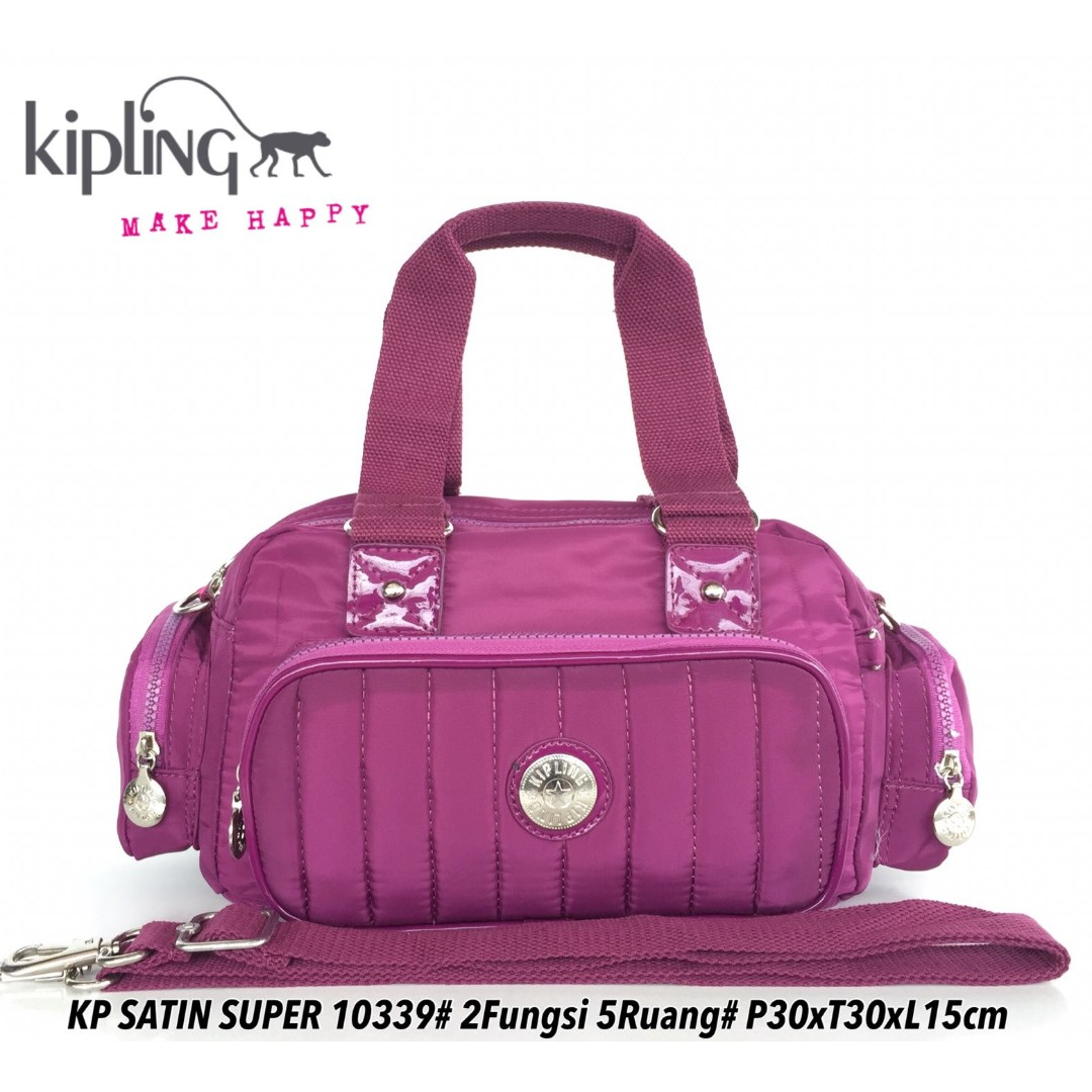 Tas Wanita Kipling Handbag Selempang Satin 5 Ruang 10339 - 8 5b6dce2718
