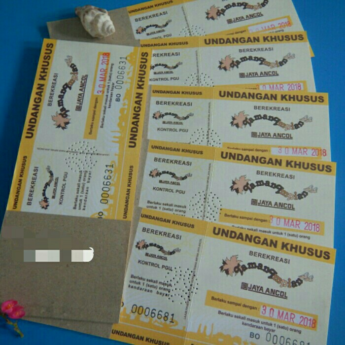 Tiket Masuk Ancol Tickets Vouchers Attractions On Carousell