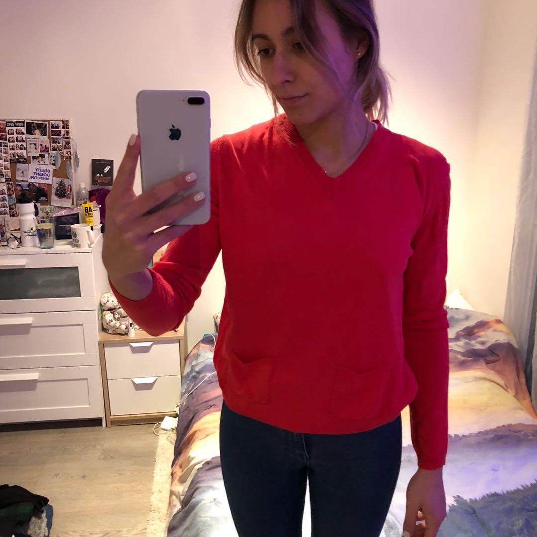 Viscose Pink Sweater