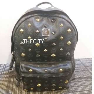 AUTHENTIC MCM LARGE BACKPACK