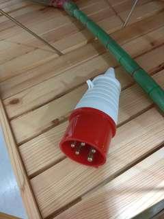 32A 5pin round plug