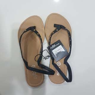 Bnwt Authentic Cotton On Rubi Size 5 Sandals Flipflops Slippers