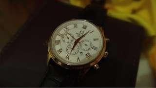 Solvil et titus 鐵達時 皮帶 機械錶